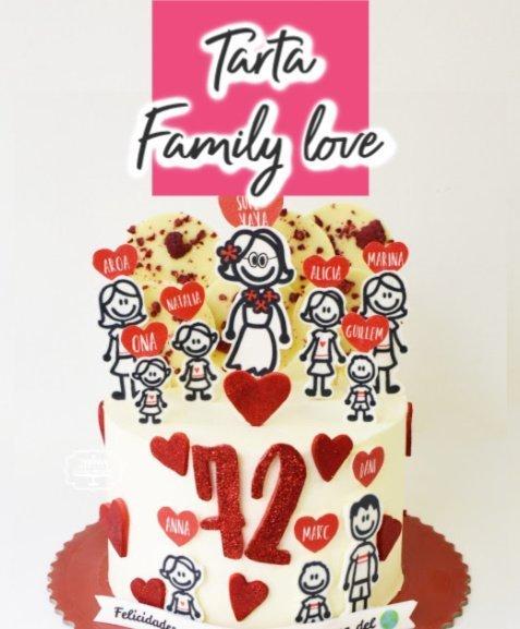 tarta personalizada familia fiesta infantil party pasteleria teresa muntaner